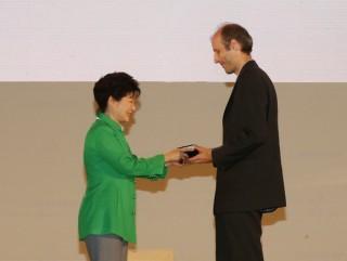 마틴 헤어러 교수 - 세계수학자대회조직위원회 제공